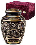 Small Gee Motif Cremation Urn