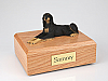 Saluki, Lying Dog Figurine Cremation Urn