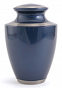 Majestic Moonlight Blue Cremation Urn