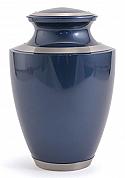 Majestic Moonlight Blue Cremation Urn