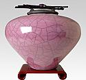 Akira Raku Ceramic Cremation Urn