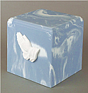 Praying Hands Cultured Marble Adult Urn