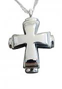Classic cross pendant Cremation Urn