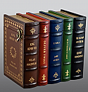 Classic Literature Book Set Wood Cremation Urn