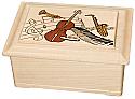 Rhapsody on Maple Wood Cremation Urn