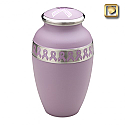 Pink Awareness Cremation Urn