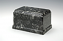 Ebony Olympus Cultured Marble Cremation Urn