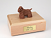 Cocker, Brown - Standing  Dog Figurine Cremation Urn