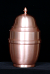 Copper Omari Cremation Urn