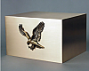 Eagle Companion Solid Bronze Urn