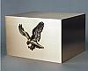 Eagle Companion Solid Bronze Cremation Urn