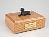 Weimaraner Laying Dog Figurine Cremation Urn