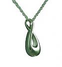 Infinity keepsake jewelry Cremation Urn pendant