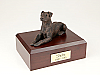 Doberman, Bronze - ears down  Dog Figurine Cremation Urn