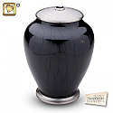 Simplicity Midnight Pearl Cremation Urns