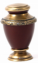 Auburn Artisan Keepsake Cremation Urn