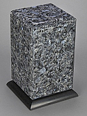 Blue Pearl Adult Granite Cremation Urn