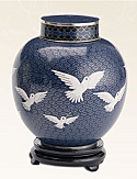 Going Home Companion Cloisonne Cremation Urn