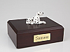 Dalmatian Black Spotted - White Dog Figurine Cremation Urn