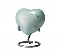 Aria Dolphin Brass Heart Keepsake Urn