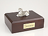 Husky, Gray  Dog Figurine Cremation Urn
