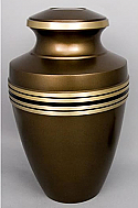 Thiera Brass Cremation Urn