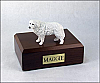 Great Pyrenees Dog Figurine Cremation Urn
