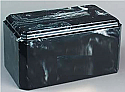 Windsor Black Cultured Marble Cremation Urn