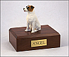 Jack Russell Terrier Dog Figurine Cremation Urn