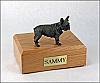 French Bull  Dog Figurine Cremation Urn