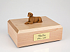 Vizsla Laying Dog Figurine Cremation Urn
