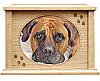 Extra Large Natural Wood Pet Cremation Urn