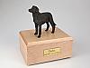 Labrador, Black Standing Dog Figurine Cremation Urn