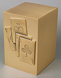 Aces High Adult Cremation Urn