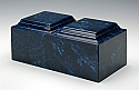 Companion Cultured Marble Cremation Urns - Various Colors