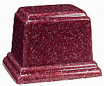 Medium Rectangle Cultured Granite Urn