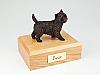 Cairn Terrier Bronze Dog Figurine Cremation Urn