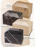 Marble Rectangular Cremation Urns I