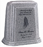 Tablet Millennium Granite Cremation Urn