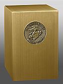 Marine Corps Medallion Bronze Cremation Urn