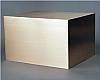 Infinity Solid Bronze Cube Cremation Urn