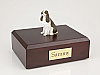 Springer Spaniel, Liver Dog Figurine Cremation Urn