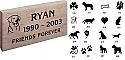 Pet Memorial Stone Garden Marker