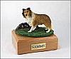 Sheltie, Sable Dog Figurine Cremation Urn