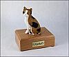 Calico Cat Figurine Cremation Urn