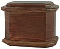 Diplomat Wood Cremation Urn