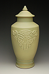 Celtic Dragon Urn