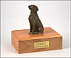 Weimaraner Sitting Dog Figurine Cremation Urn