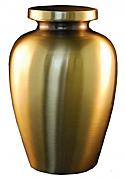 Cretian Antique Bronze Cremation Urn