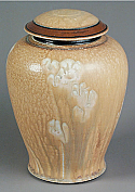 Sand Flower Porcelain Cremation Urn